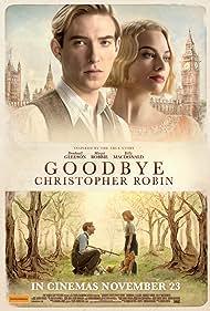 Domhnall Gleeson, Margot Robbie, and Will Tilston in Goodbye Christopher Robin (2017)