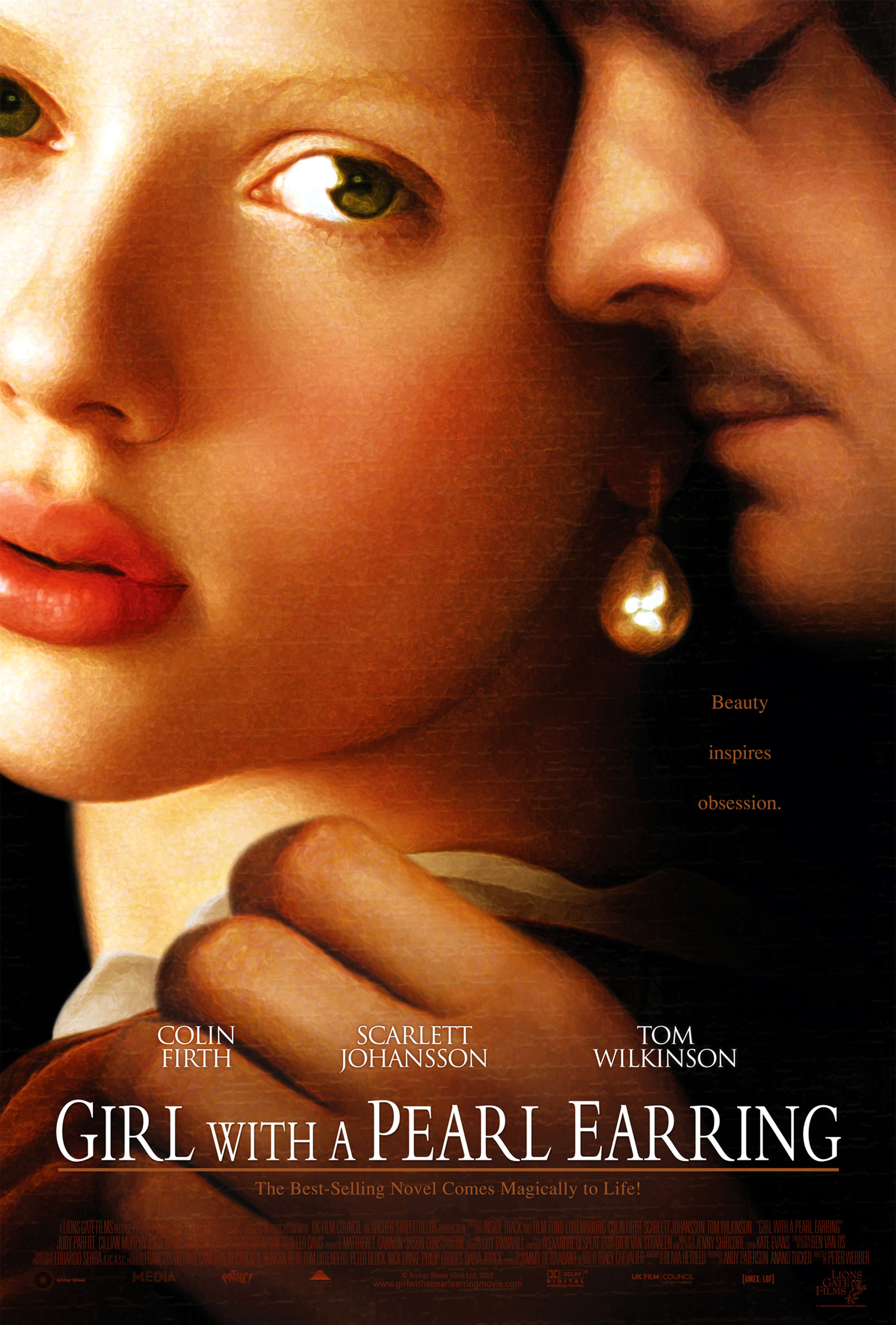 Girl with a Pearl Earring (2003) BluRay 480p, 720p & 1080p