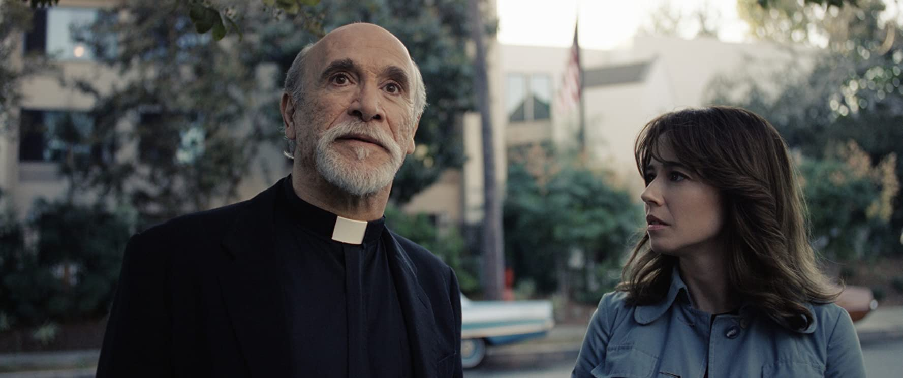 Linda Cardellini and Tony Amendola in The Curse of La Llorona (2019)