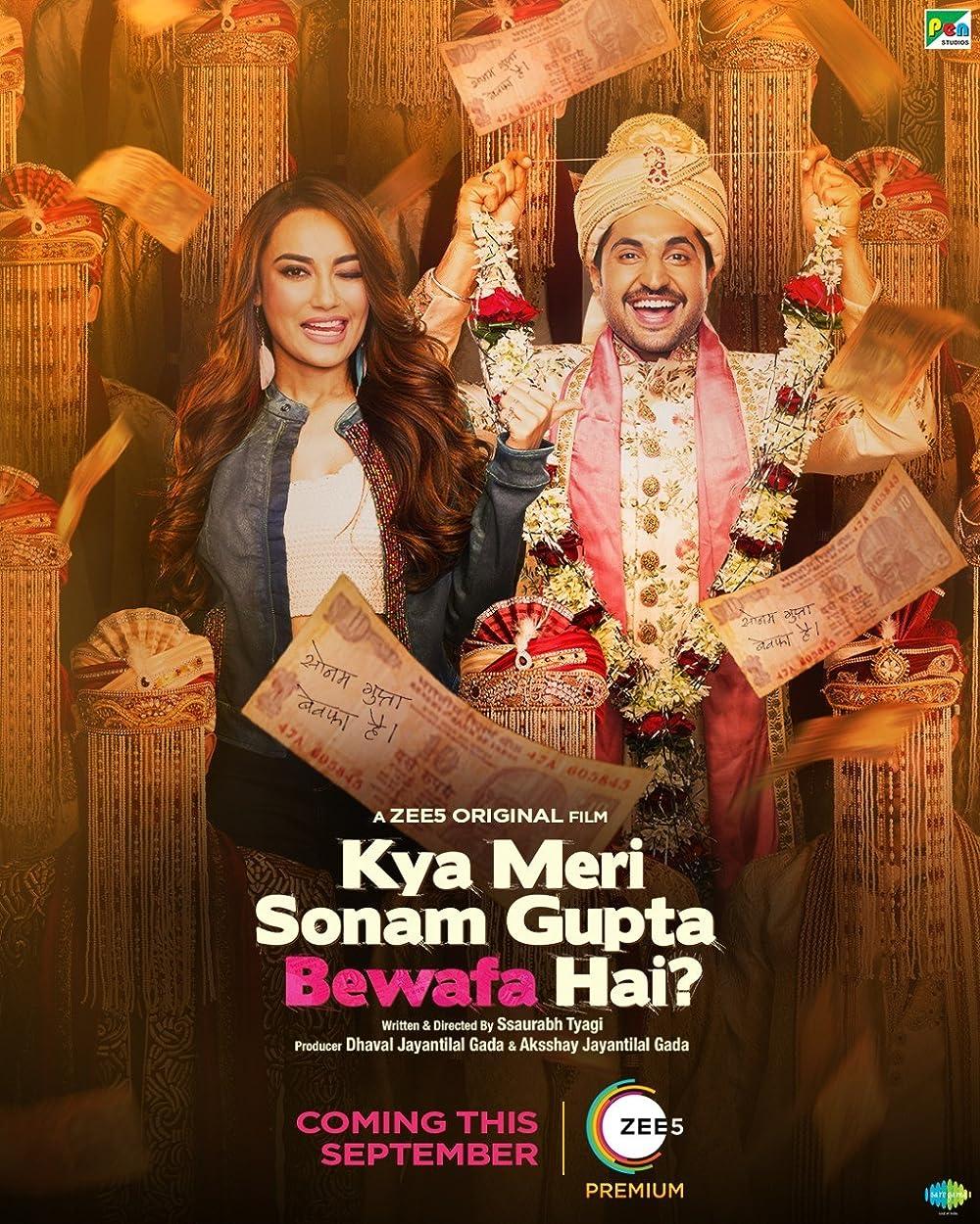 Kya Meri Sonam Gupta Bewafa Hai 2021 Hindi Movie Official Trailer 1080p ZEE5 HDRip 45MB Download