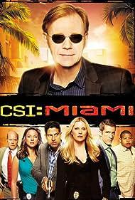 David Caruso, Eva LaRue, Rex Linn, Omar Benson Miller, Emily Procter, Adam Rodriguez, and Jonathan Togo in CSI: Miami (2002)