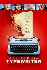 Watch Movie California Typewriter (2017)