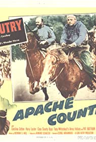 Gene Autry, Carolina Cotton, Harry Lauter, and Champion in Apache Country (1952)