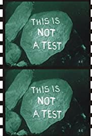 This Is Not a Test (1962) Poster - Movie Forum, Cast, Reviews