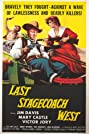 Last Stagecoach West (1957) Poster