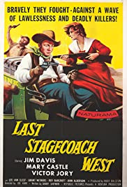 Last Stagecoach West Poster