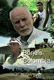 Börjes Colombia Poster