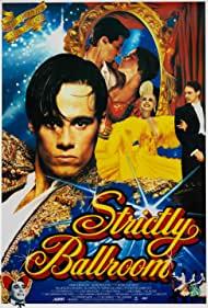 Gia Carides, Paul Mercurio, and Tara Morice in Strictly Ballroom (1992)