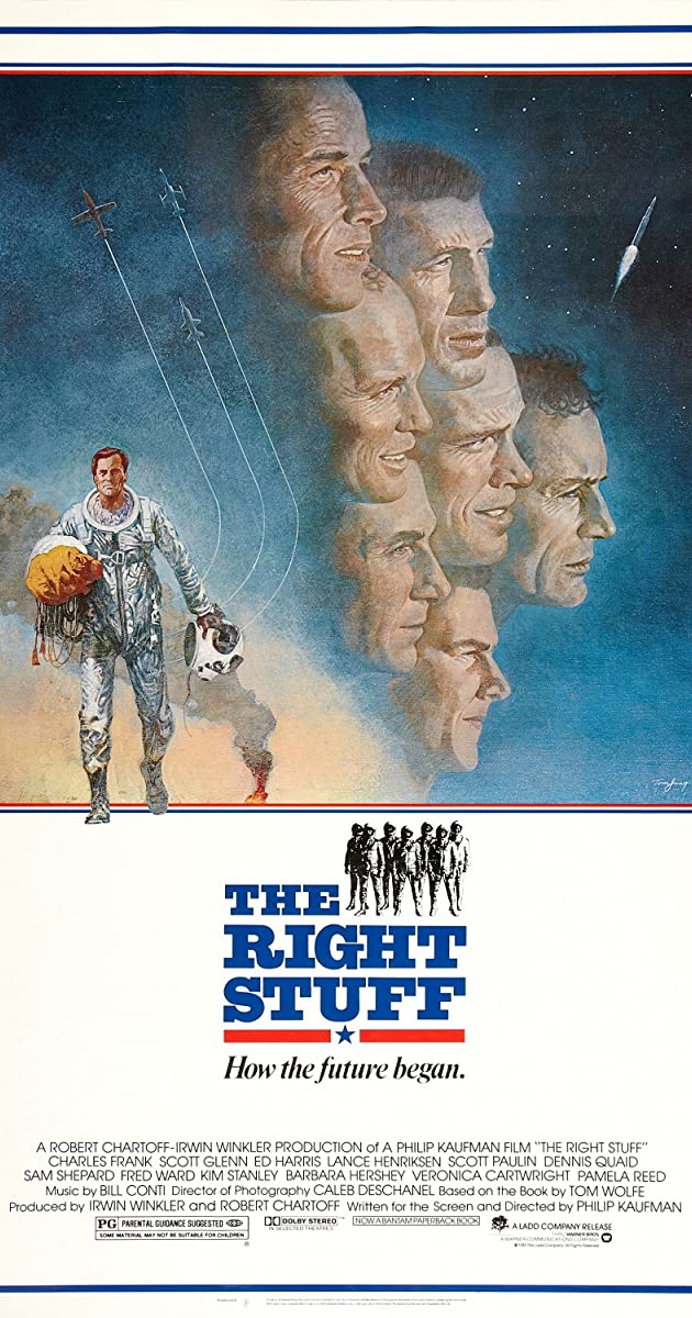 Subtitle of The Right Stuff