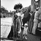 """Hello Dolly"" Barbra Streisand with son Jason Gould on the set 1969 20th Cent. Fox"