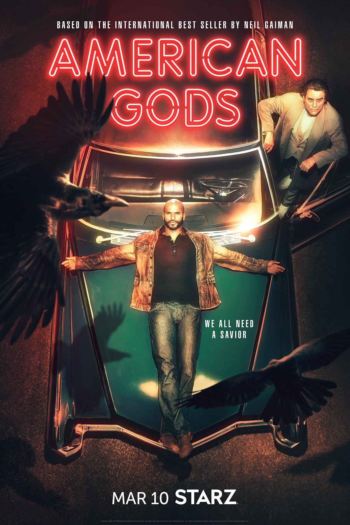 Amerikos dievai (2 Sezonas) / American Gods (Season 2)