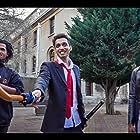 Naledi Ramphele, Matthew Rensburg, and Vash Singh in A Hero's Counsel (2018)
