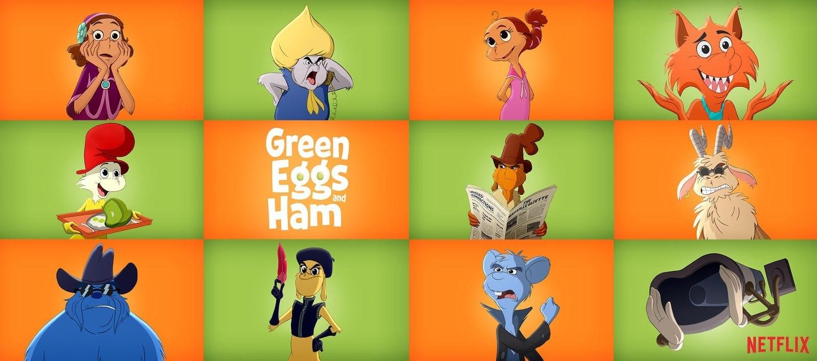 Green Eggs and Ham (2019) Serial Online Subtitrat in Romana