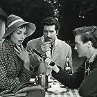 Preben Mahrt, Preben Uglebjerg, and Astrid Villaume in Amor i telefonen (1957)