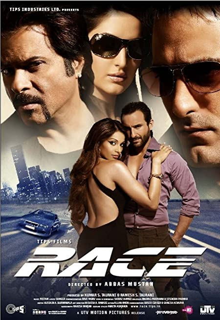 Race (2008) Hindi Blu-Ray - 720P | 1080P - x264 - 1.1GB | 3.8GB - Download & Watch Online  Movie Poster - mlsbd