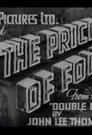 The Price of Folly Poster