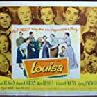 Piper Laurie, Ronald Reagan, Spring Byington, Charles Coburn, Scotty Beckett, Edmund Gwenn, Jimmy Hunt, and Ruth Hussey in Louisa (1950)