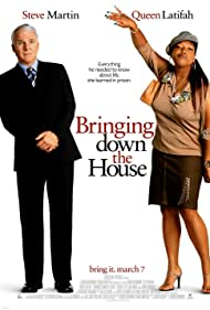 Steve Martin and Queen Latifah in Bringing Down the House (2003)