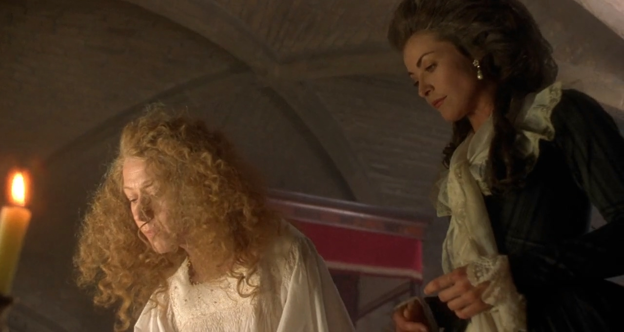 Amanda Donohoe and Helen Mirren in The Madness of King George (1994)
