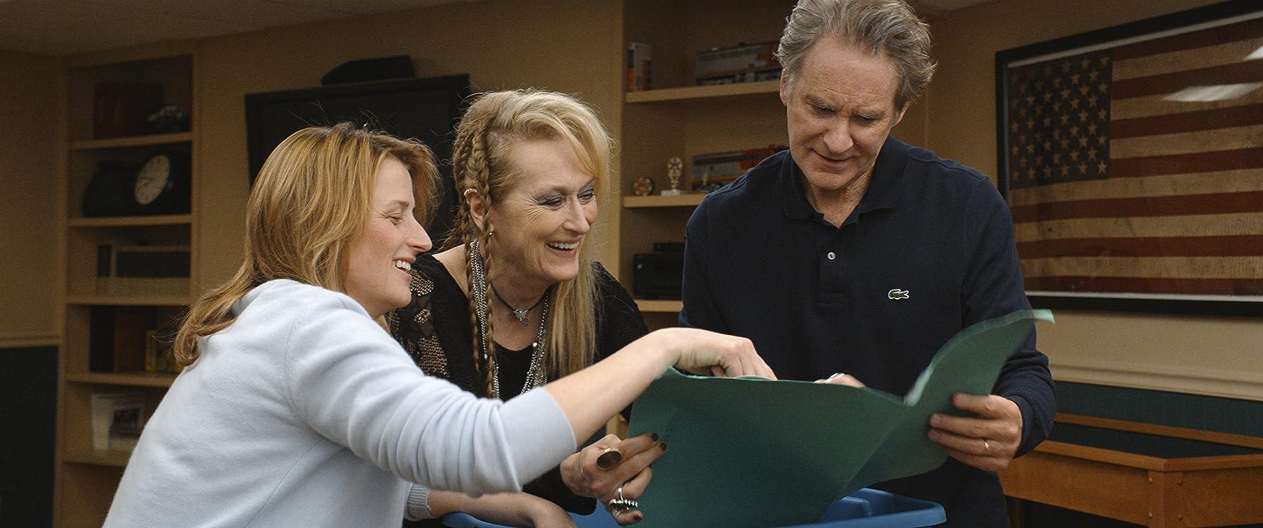 Kevin Kline, Meryl Streep, and Mamie Gummer in Ricki and the Flash (2015)