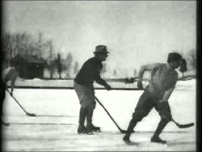 Hockey Match on the Ice none
