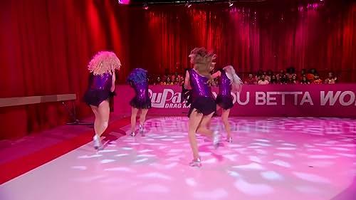 RUPAUL'S DRAG RACE: Team Glamazonia's Dance Routine