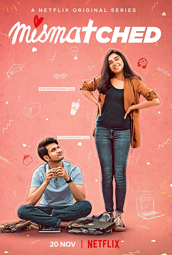 Download Mismatched (2020) S01 Hindi Complete Netflix Web Series 480p HDRip 600MB