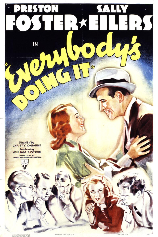 Sally Eilers, Preston Foster, Cecil Kellaway, and Lorraine Krueger in Everybody's Doing It (1938)