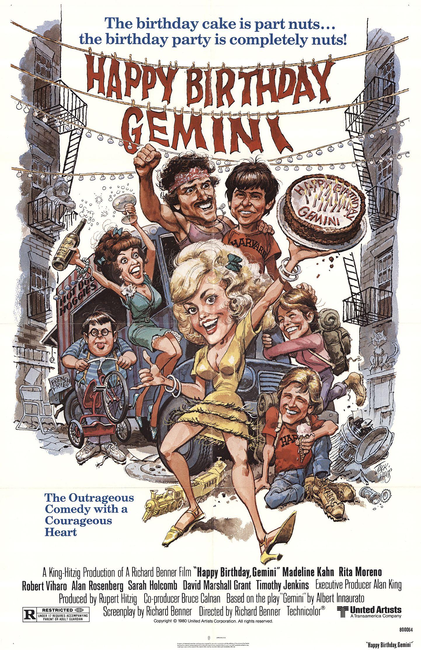 Happy Birthday, Gemini (1980) - IMDb