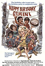 Happy Birthday, Gemini (1980) Poster - Movie Forum, Cast, Reviews