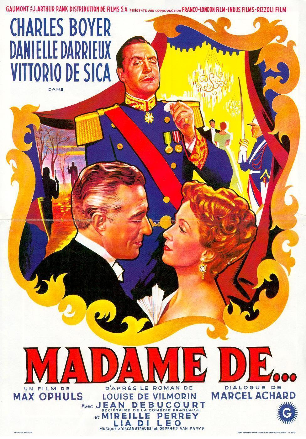 The Earrings of Madame De... (1953) - IMDb