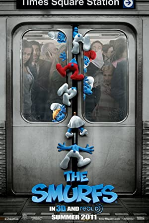 Download The Smurfs (2011) {Hindi-English} 480p [300MB] || 720p [800MB]