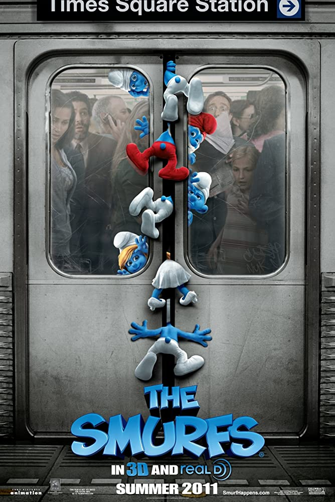 The Smurfs 2011 Dual Audio Hindi 480p