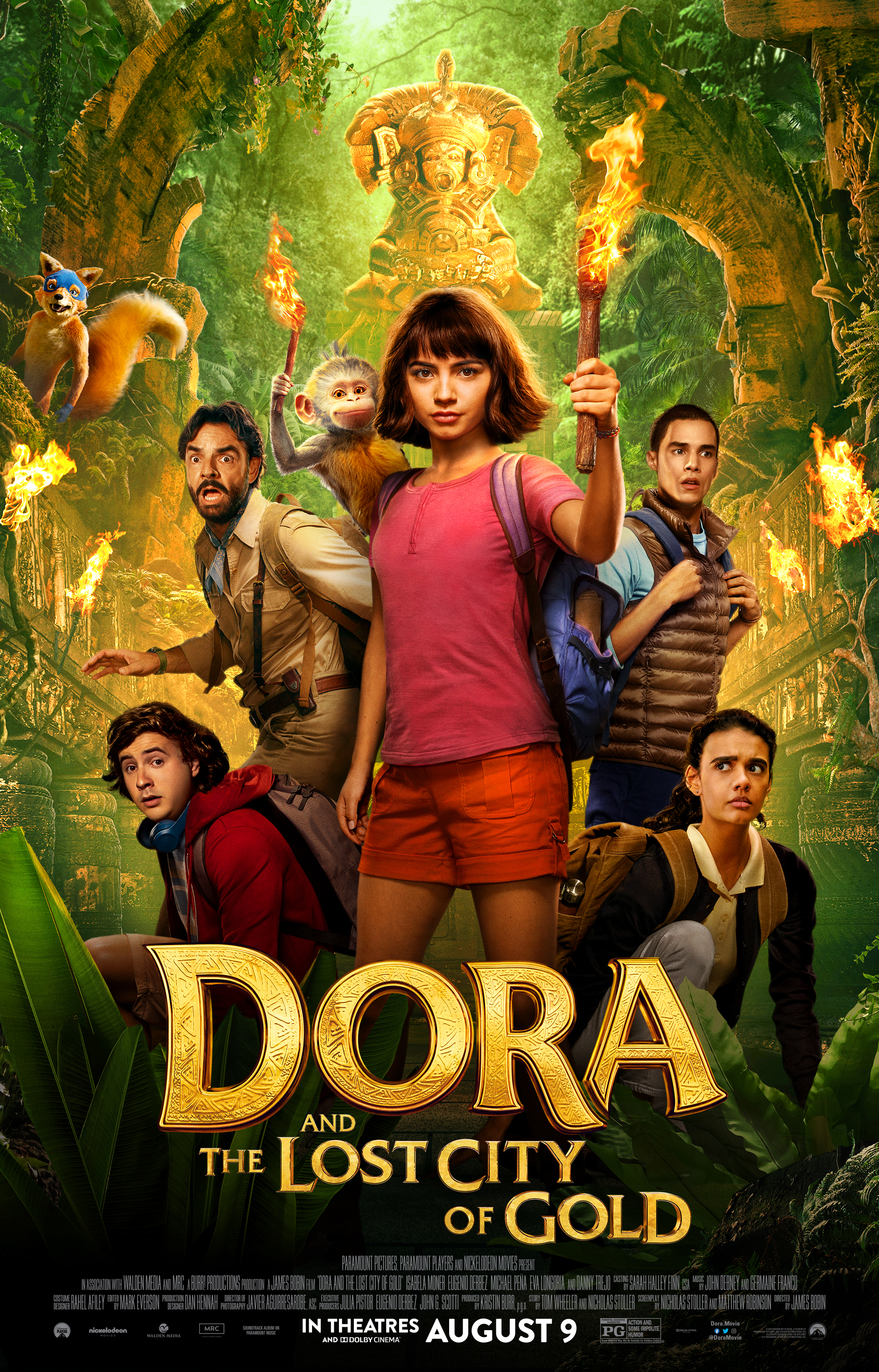 Dora ir prarastasis aukso miestas (2019) / Dora and the Lost City of Gold