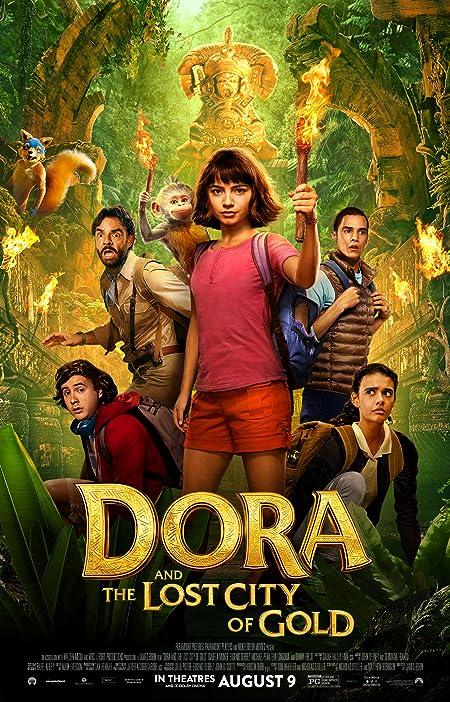 Dora and the Lost City of Gold (2019) Hindi Dubbed HDCam-Rip – 480P | 720P – x264 – 280MB | 850MB – Download [Original Hindi Audio]