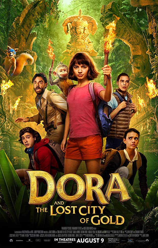 Dora and the Lost City of Gold 2019 English 720p HDCAMRip 900MB