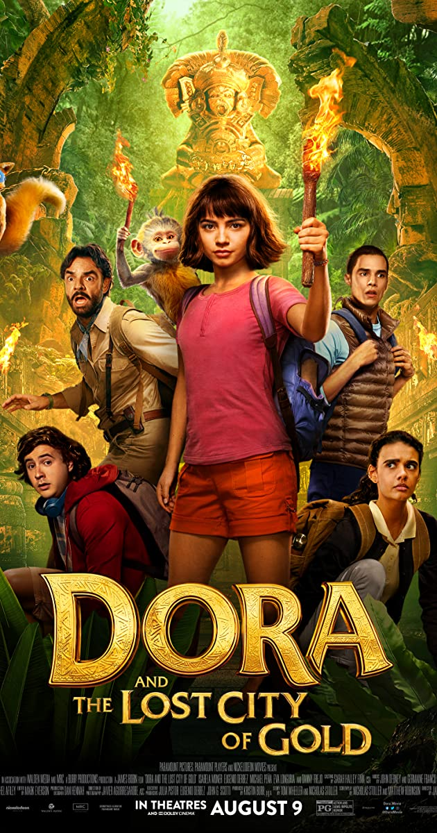 Subtitle of Dora and the Lost City of Gold