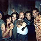 Danny Arroyo, Louis Mandylor, and Eddie Velez in White Rush (2003)