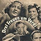Fosco Giachetti and Beniamino Gigli in Giuseppe Verdi (1938)