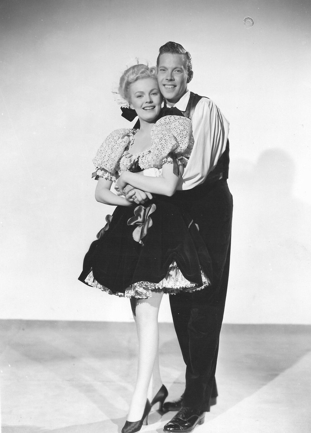 June Haver and Dick Haymes in Irish Eyes Are Smiling (1944)