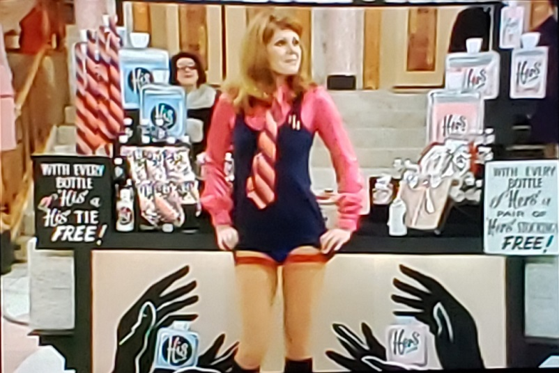 Joanna Lumley in Are You Being Served? (1972)