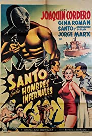 Santo vs. Infernal Men Poster
