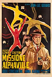 Alphaville (1965) Poster - Movie Forum, Cast, Reviews