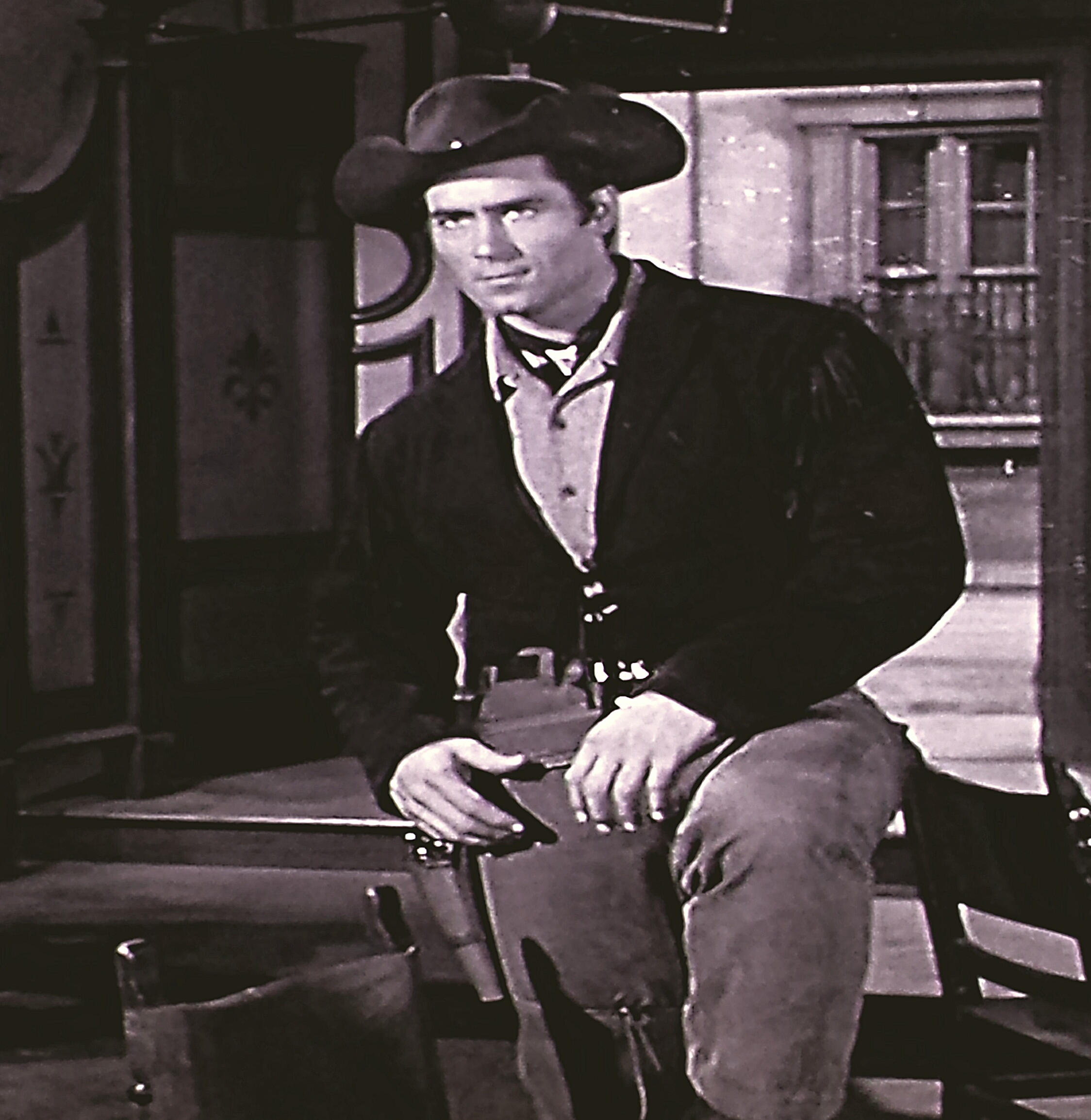 Clint Walker in Cheyenne (1955)
