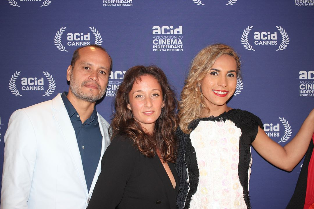 Marcelo Barbosa, Wescla Vasconcelos, and Aude Chevalier-Beaumel at an event for Indianara (2019)