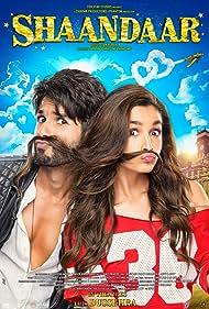 Alia Bhatt and Shahid Kapoor in Shaandaar (2015)