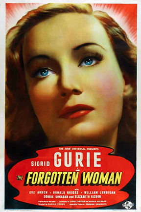 Sigrid Gurie in The Forgotten Woman (1939)