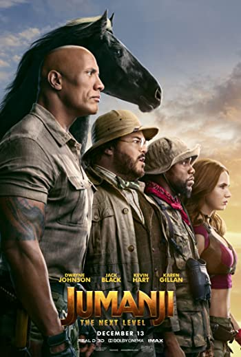Jumanji: The Next Level 2019 HDRip 480p Dual Audio In Hindi 400MB