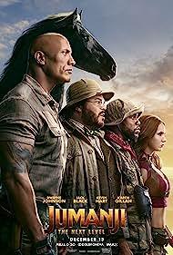 Jack Black, Kevin Hart, Dwayne Johnson, and Karen Gillan in Jumanji: The Next Level (2019)