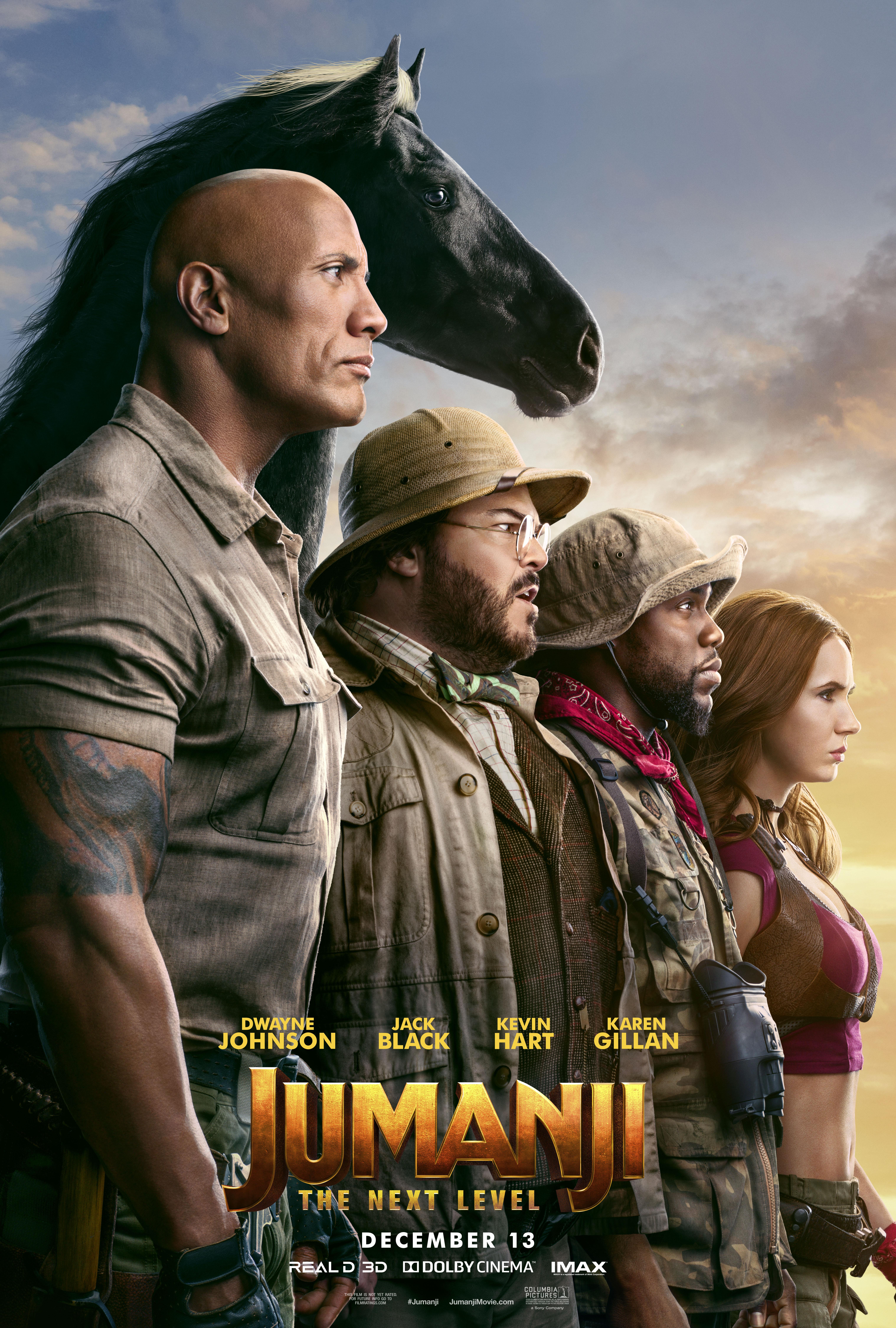 [PG-13] Jumanji: The Next Level (2019) Dual Audio Blu-Ray - 480P | 720P - x264 - 400MB | 900MB - Download & Watch Online Movie Poster - mlsbd